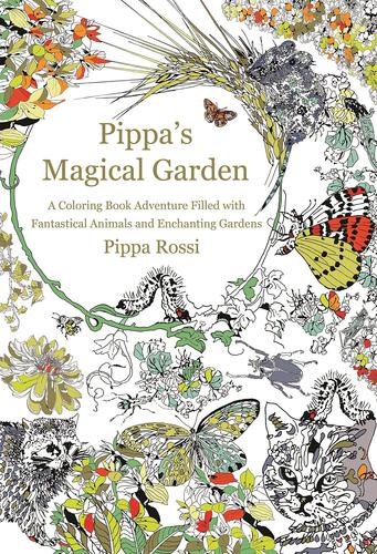 9781250105370 Pippa's Magical Garden: A Coloring Book Adventure...