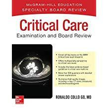 9781259834356 Critical Care Examination & Board Review