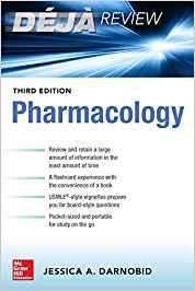 9781260135671 Deja Review: Pharmacology