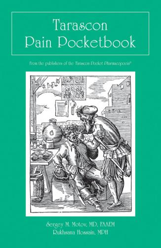 9781284157611 Tarascon Pain Pocketbook