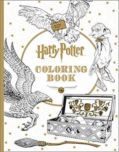 9781338029994 Harry Potter Coloring Book