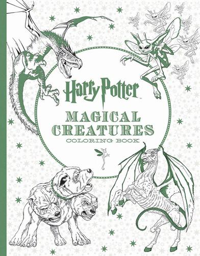 9781338030006 Harry Potter Magical Creatures Coloring Book