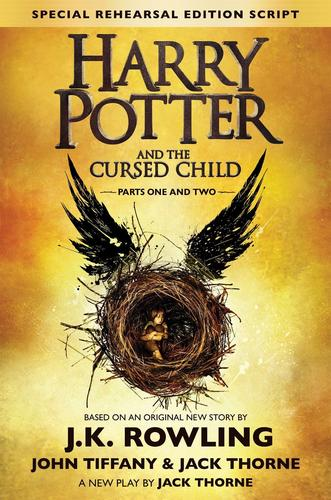 9781338099133 Harry Potter & The Cursed Child Parts 1 & 2