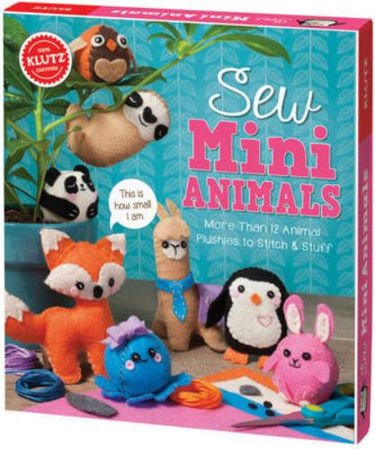 9781338106442 Klutz: Sew Mini Animals