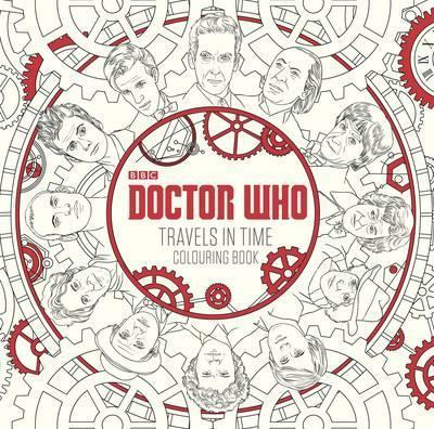9781405927260 Doctor Who: Travels In Time Colouring Book