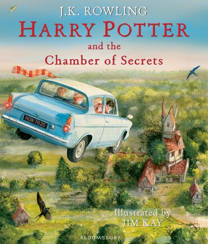 9781408845653 Harry Potter & The Chamber Of Secrets Illustrated Edition