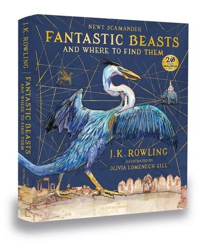 9781408885260 Fantastic Beasts & Where To Find Them: Illustrated Edition