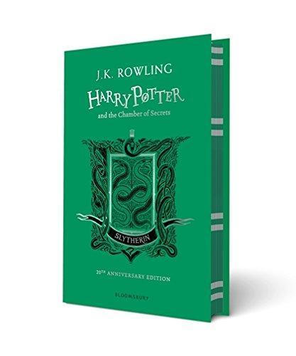 9781408898116 Harry Potter & The Chamber Of Secrets: Slytherin Edition