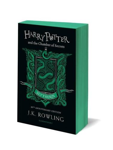 9781408898123 Harry Potter & The Chamber Of Secrets: Slytherin Edition
