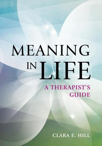 9781433828874 Meaning In Life: A Therapist's Guide