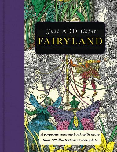 9781438007601 Fairyland: A Gorgeous ... 120 Illustrations To Complete