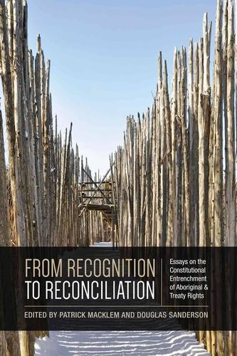 9781442628854 From Recognition To Reconciliation: Essays On...