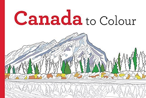 9781443450942 Canada To Colour
