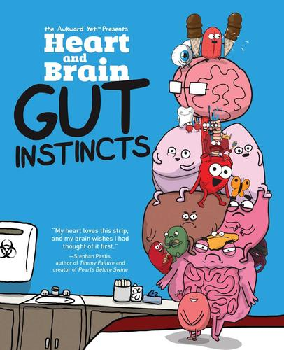 9781449479787 Heart & Brain: Gut Instincts: An Awkward Yeti Collection