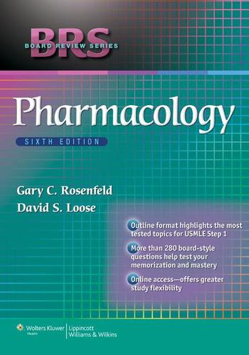 9781451175356 Brs Pharmacology