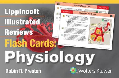 9781451191066 Lippincott Illustrated Reviews Flash Cards: Physiology