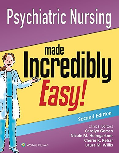 9781451192551 Psychiatric Nursing Made Incredibly Easy!