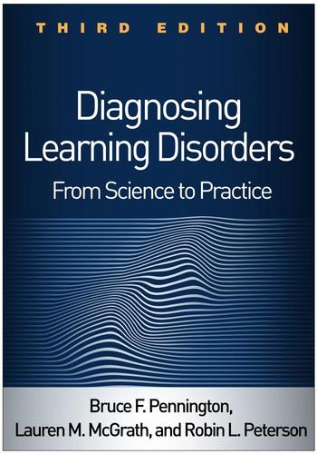 9781462537914 Diagnosing Learning Disorders: From Science To Practice