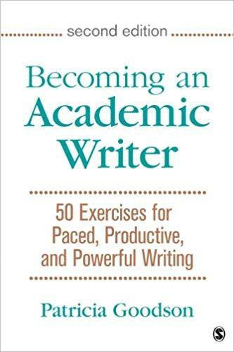 9781483376257 Becoming An Academic Writer