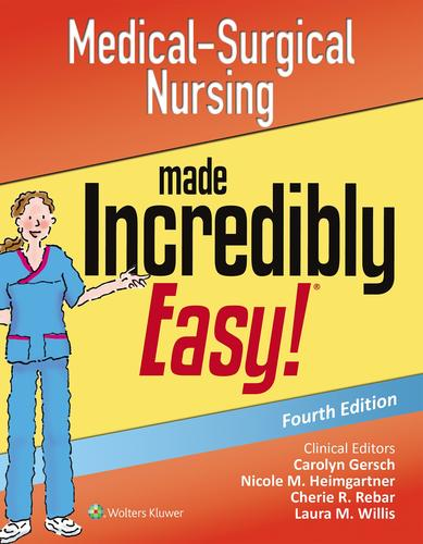 9781496324849 Medical-Surgical Nursing Made Incredibly Easy