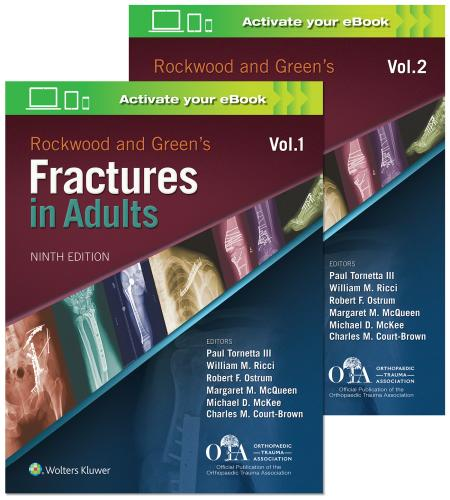 9781496386519 Rockwood And Green's Fractures In Adults