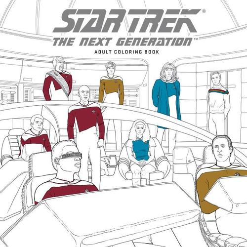 9781506702513 Star Trek: The Next Generation Adult Coloring Book