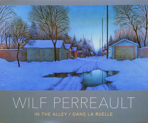 9781550505955 In The Alley: The Art Of Wilf Perreault