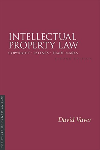 9781552212097 Intellectual Property Law:  Essentials Of Canadian Law