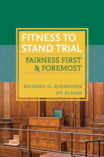 9781552214978 Fitness To Stand Trial