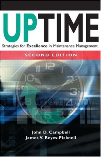 9781563273353 Uptime: Strategies For Excellence In Maintenance Management