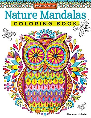 9781574219579 Nature Mandalas Coloring Book