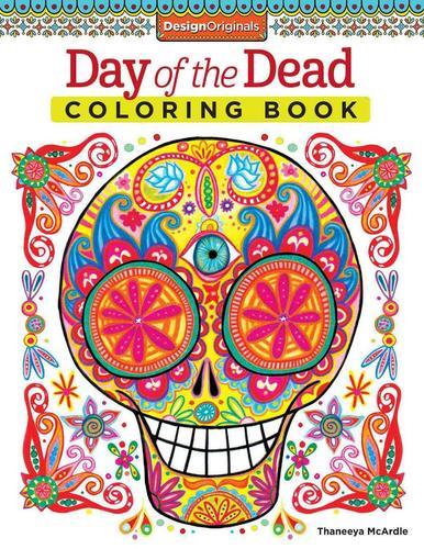 9781574219616 Day Of The Dead Coloring Book