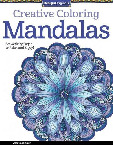 9781574219739 Creative Coloring Mandalas: Art ... Pages To Relax & Enjoy