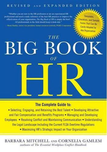 9781601631893 Big Book Of Hr: Revised & Expanded Edition
