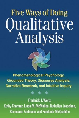 9781609181420 Five Ways Of Doing Qualitative Analysis: Phenomenological...