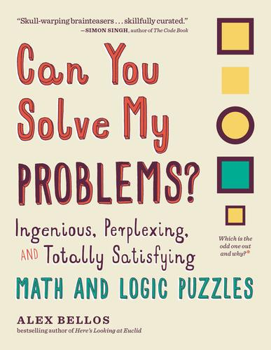 9781615193882 Can You Solve My Problems?