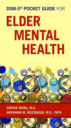 9781615370566 Dsm-5 Pocket Guide For Elder Mental Health
