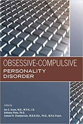 9781615372249 Obsessive-Compulsive Personality Disorder
