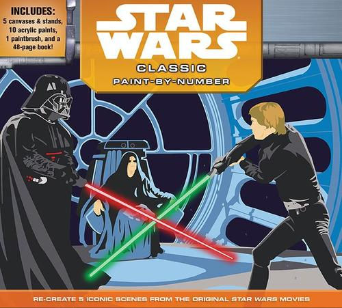 9781626866331 Star Wars Classic Paint-By-Number