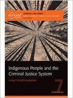 9781772553048 Indigenous People And The Criminal Justice System