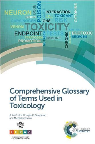 9781782621379 Comprehensive Glossary Of Terms Used In Toxicology
