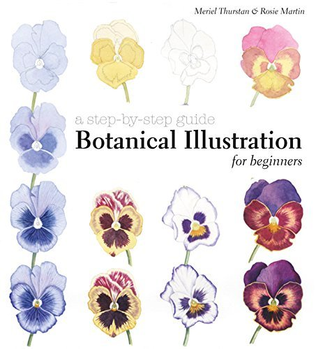 9781849942713 Botanical Illustration For Beginners:  A Step-By-Step Guide