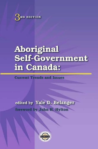 9781895830323 Aboriginal Self-Government In Canada: Current Trends...
