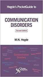9781944883140 Hegde's Pocket Guide To Communication Disorders