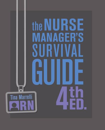 9781945157417 Nurse Manager's Survival Guide