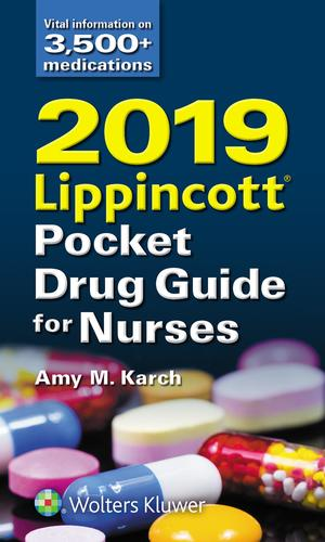 9781975107840 2019 Lippincott Pocket Drug Guide For Nurses