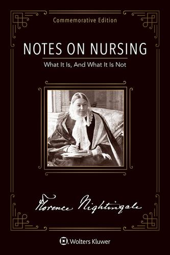 9781975110253 Notes On Nursing: Commemorative Edition
