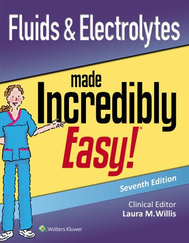 9781975125066 Fluids & Electrolytes Made Incredibly Easy