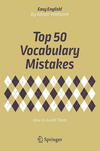 9783319709802 Top 50 Vocabulary Mistakes: How To Avoid Them