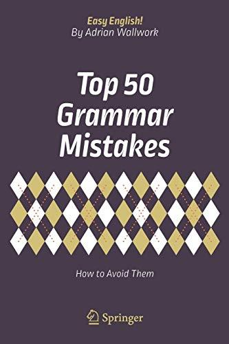 9783319709833 Top 50 Grammar Mistakes